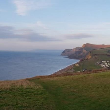 West Bay to Lyme Regis Dorset