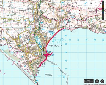 Lulworth Cove To Wykes Regis Dorset