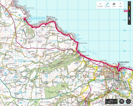 Runswick Bay To Robin Hood's Bay Yorkshire